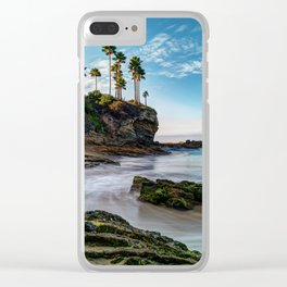 Incoming Tide - Laguna Beach Clear iPhone Case