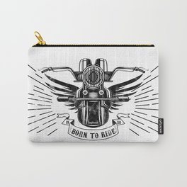 Old School Motorcycle Carry-All Pouch