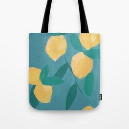 The Pastel Lemon View Tote Bag