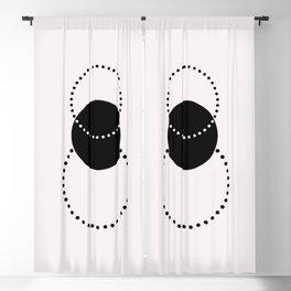 Geometric print - Shapes 001 Blackout Curtain