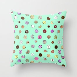 Donut You Want Some Throw Pillow