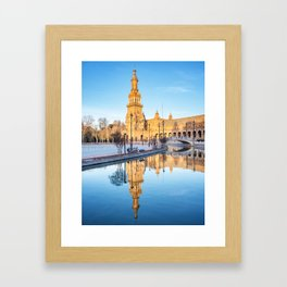 Plaza de España, Sevilla, Spain 6 Framed Art Print