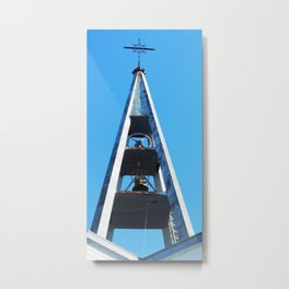 Bell tower church Belfry  Metal Print