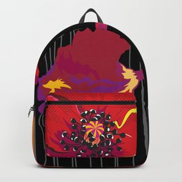 Poppy variation 10 Backpack
