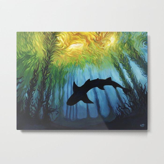 Kelp Forest II Metal Print