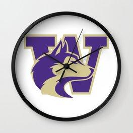 Huskies!!! Wall Clock