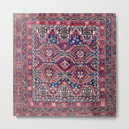 Baluch Khorasan Northeast Persian Bag Face Print Metal Print