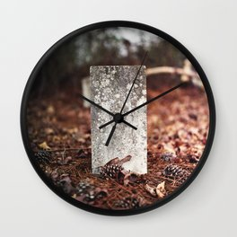 Grave Stone Wall Clock
