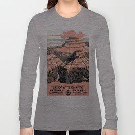 Vintage poster - Grand Canyon Long Sleeve T-shirt