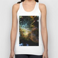 universe Tank Tops featuring Universe by nicky2342