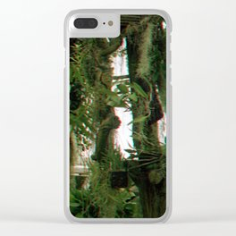 Green Haze Clear iPhone Case
