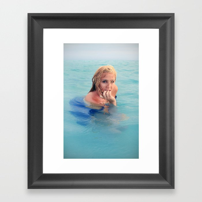 Rachel Emerges Framed Art Print