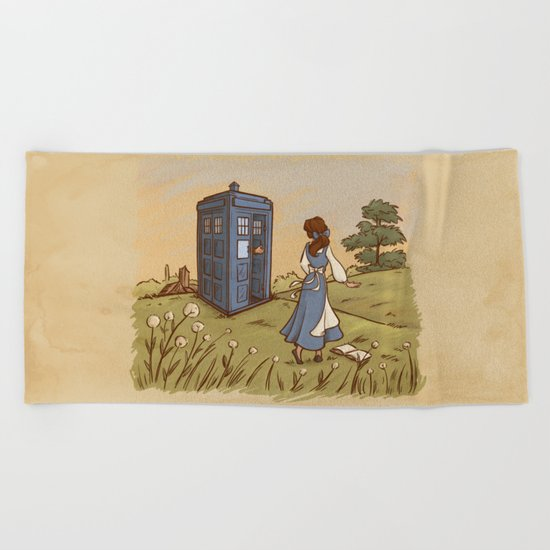 Adventure in the Great Wide Somewhere Beach Towel