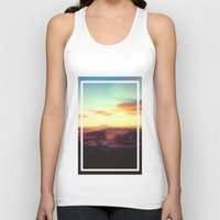 rogue Tank Tops featuring Planet Rogue by Daniel Montero