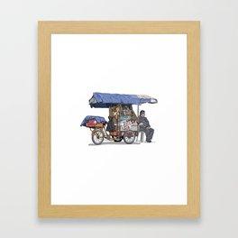 Rebusque_bici Framed Art Print