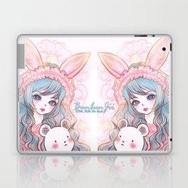 bunbunjii bluehair *GirlsCollection* Laptop & iPad Skin