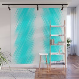 stripes wave pattern 8v1 chi Wall Mural