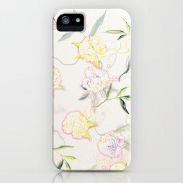 Pastel Hydrangea iPhone Case