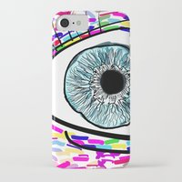 iris iPhone & iPod Cases featuring Iris by Beyond Infinite
