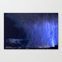 earthbound Canvas Prints featuring Earthbound Dreams by Shuttervita