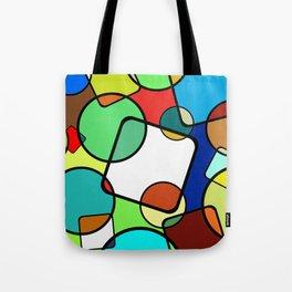 Shapes And Shades Tote Bag