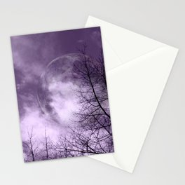 Purple Night  - JUSTART © Stationery Cards