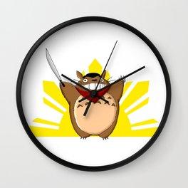 Totoro Bonifacio Wall Clock