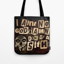 Sithfits - Son of a Sith Tote Bag