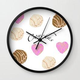 Conchas Wall Clock