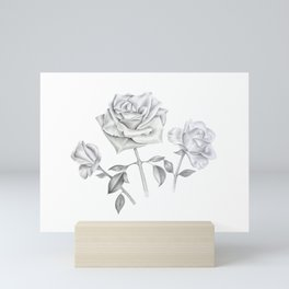 Three Roses Mini Art Print