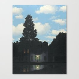 The Empire of Light - Rene Magritte Canvas Print