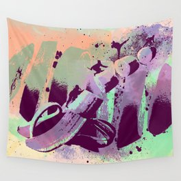 Fruit Ninja by GEN Z Wall Tapestry