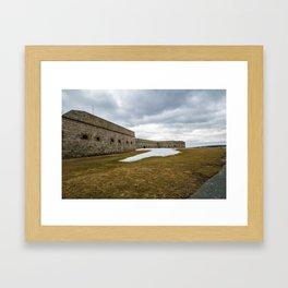 Fort Adams Framed Art Print