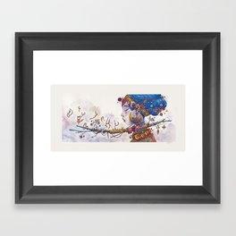 The big one Framed Art Print