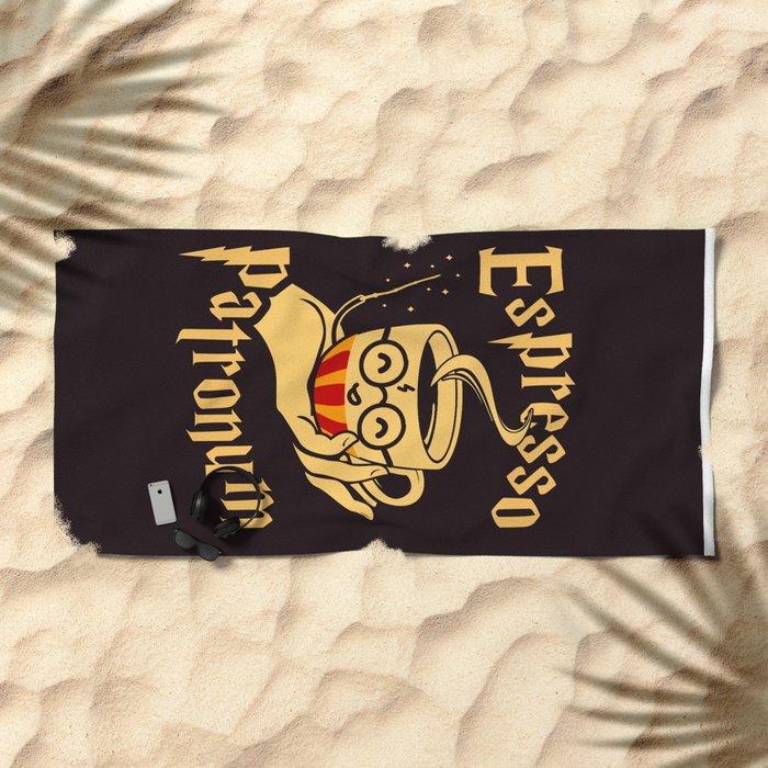 Espresso Patronum Beach Towel
