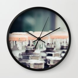 Water Works Wall Clock