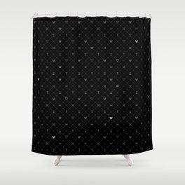 Kingdom Hearts BG Shower Curtain