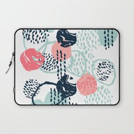 Mellie - abstract minimal modern art print painted boho hipster gender neutral canvas art Laptop Sleeve