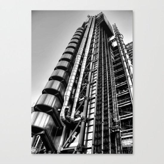 Lloyds Building, London Canvas Print