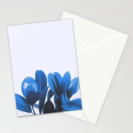 Blue Plant Stationery Cards