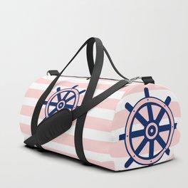 AFE Nautical Helm Wheel 2 Duffle Bag