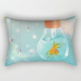 Ideas and Goldfish ... Rectangular Pillow