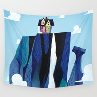 pixar Wall Tapestries featuring A Pixar Adventure! by Create The Crown!