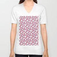 mermaids V-neck T-shirts featuring Mermaids by Koni