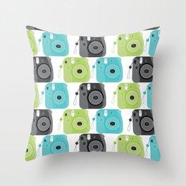 Mini Instant Cam Throw Pillow