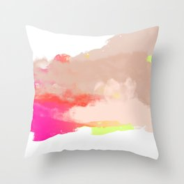 Particle of modernity Throw Pillow