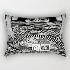 Voyeur Rectangular Pillow