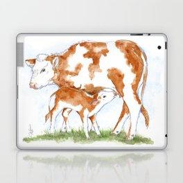 Mother & Her Child Laptop & iPad Skin