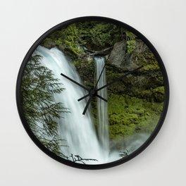 Sahalie Falls No. 4 Wall Clock