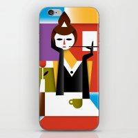 breakfast iPhone & iPod Skins featuring Breakfast by Szoki